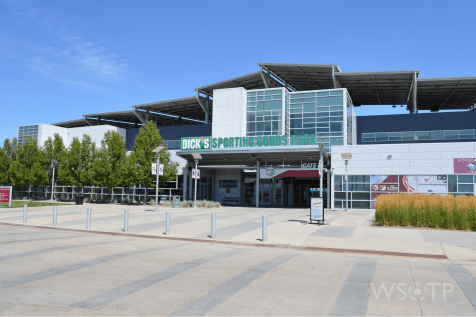 The Western Gate G entrance offers access to the stadium, Suite Access, the Rapids' Front Office and sit's immediately next to the larger West Box Office.