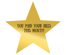 You Paid Your Bills This Month!