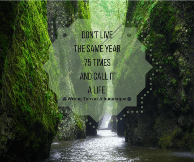 don't live the same year