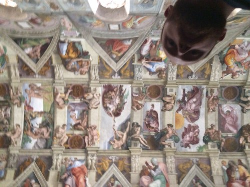 The Ceiling of the Sistine Chapel, The Vatican City