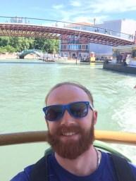 "Taking a ""bus"" boat, Venezia."
