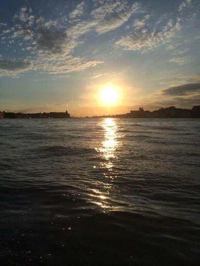 Sunset in Venice, Venezia.
