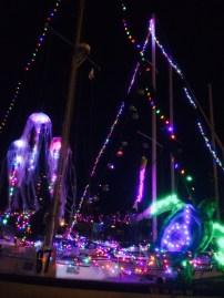 """SSS Mariners 936's entry in the Dana Point """"Fanta-Sea"""" Boat Parade."""