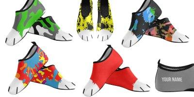 Fulffster Slip On Aqua Shoes