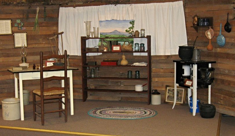 Granny Woman Cabin Display