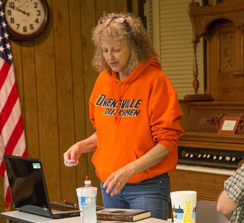 Vonda Wilson Sheets speaking at BKU