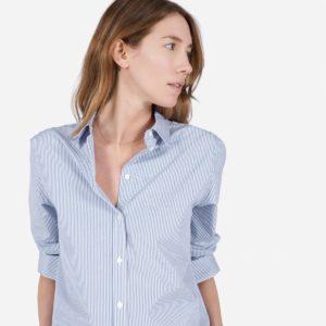 Blue Stripe Everlane Shirt