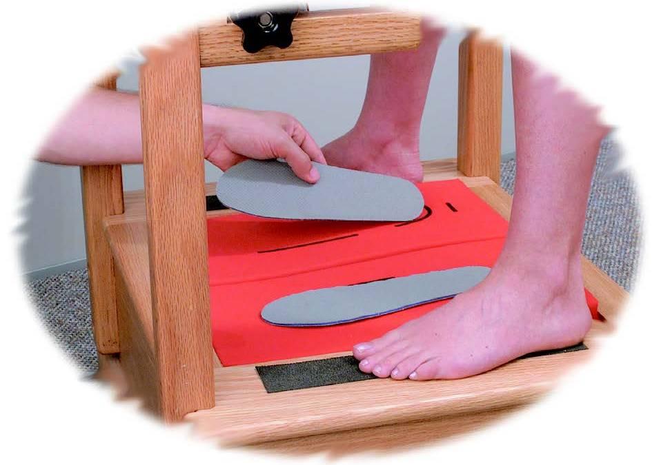 Foot Tech Mini-Lab Custom Molding Process Step 2