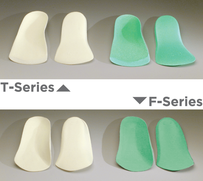 Foot Tech Mini-Lab Product Half-Sole Add-Ons T F Series