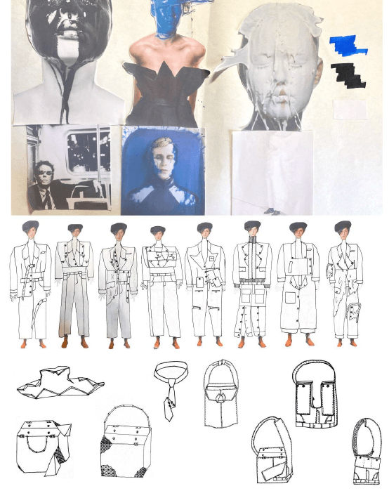 Featuring the Work of Year 2 Menswear Design Student Walter Wu