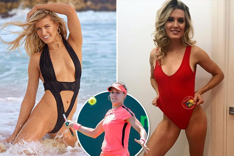 Tennis Star Genie Bouchard Serves Up An Ace In Racy