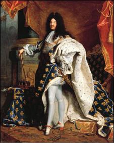 Людовик XIV (портрет кисти Иасента Риго)