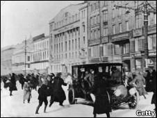 Октябрьская революция в Петрограде