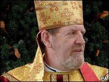 o bispo Andrew Burnham