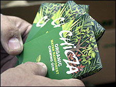 Chicle biodegradable Foto:  gentileza CCMSS