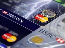 Tarjetas de Visa y Mastercard