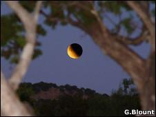 Fase de un eclipse lunar