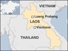 Bản đồ Lào