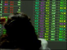 Thị trường chứng khoán ở Việt Nam (Hình VnExpress)