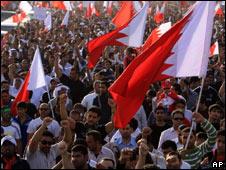 Manifestación en Bahrein