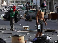 Protestas en Bahréin.