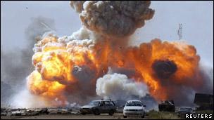 Acción aérea sobre Libia