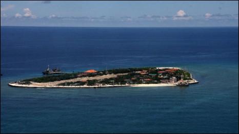 Đảo Trường Sa Lớn của Việt Nam (ảnh Đỗ Hùng, báo Thanh Niên)