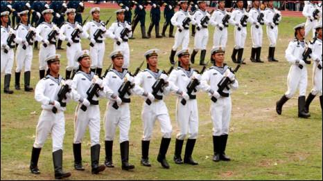 Quân Giải phóng Trung Quốc diễn tập ở Hong Kong - hình tư liệu
