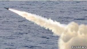 Nga phóng thử tên lửa xuyên lục địa hôm 9/8/2011