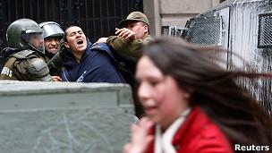 Manifestaciones de estudiantes en Chile