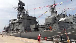 Chiến hạm INS Airavat của hải quân Ấn Độ