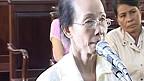 Bà Phạm Thị Phượng tại tòa hôm 21/9