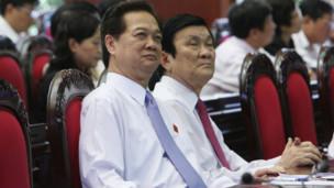 Thủ tướng và Chủ tịch nước tại một phiên họp Quốc hội