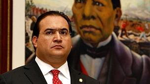 Javier Duarte, gobernador de Veracruz. Foto de AP