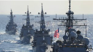 Tàu chiến Mỹ (ảnh minh họa)