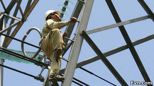 Công nhân điện Việt Nam