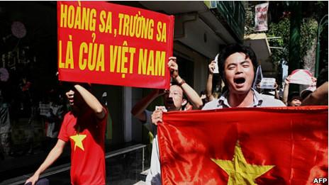 Biểu tình chống Trung Quốc ở Hà Nội mùa hè 2011