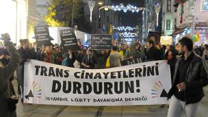 تظاهرات دوجنسیتیها در استانبول