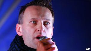 Blogger nổi tiếng Alexei Navalny