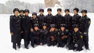 Nhóm học viên hải quân Việt Nam