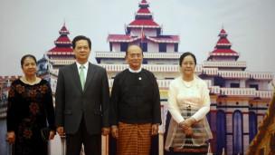 Lãnh đạo Miến Điện tiếp Thủ tướng Việt Nam