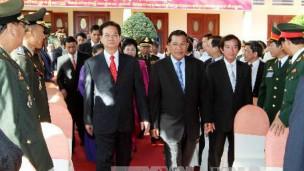Hun Sen và Nguyễn Tấn Dũng