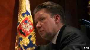 Tổng giám đốc Gazprom Alexey Miller