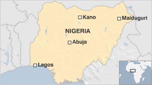 Bản đồ Nigeria