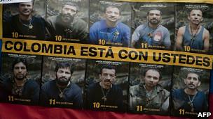 Secuestrados Colombia