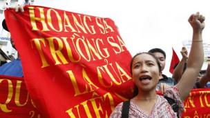 Biểu tình chống Trung Quốc, ảnh minh hoạ