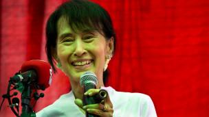 Lãnh đạo đối lập Miến Điện Aung San Suu Kyi