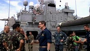 Tàu sân bay USS Denver của Mỹ tiến hành tập trận hải quân chung với Philippines