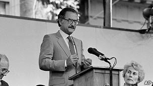 Carlos Fuentes en 1983.
