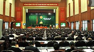 Quốc hội Việt Nam hôm khai mạc kỳ họp thứ 3